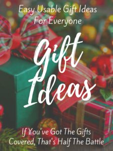 Easy Usable Gift Ideas For Anyone, Anytime, Anywhere - Creative ...